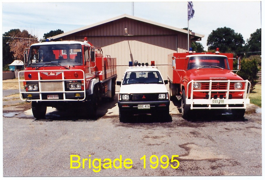 New Newstaed Fire station 1985